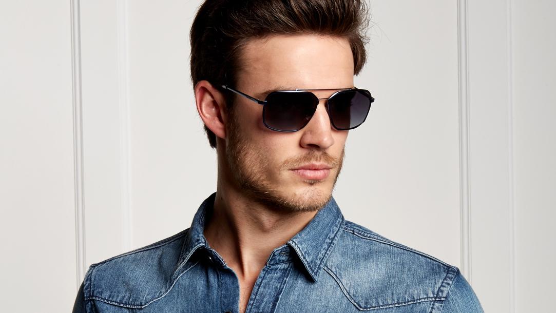 Pilotbrille von Karl Lagerfeld