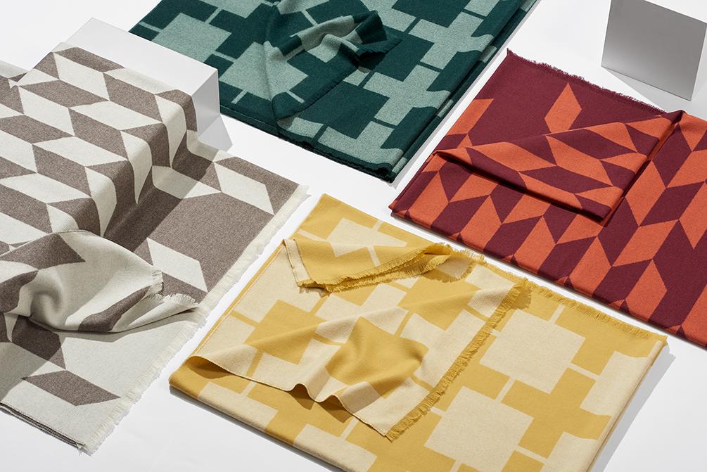 Die Decken wurden in Schottland hergestellt.