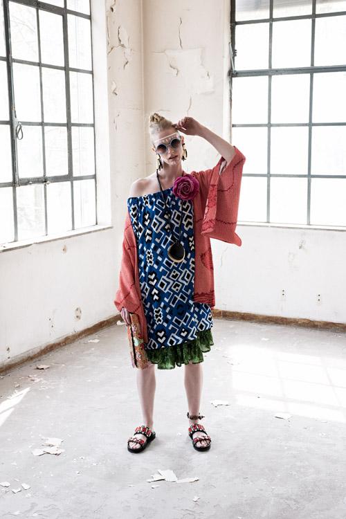 Model Alice Corniche featured in N Style Guide editorial