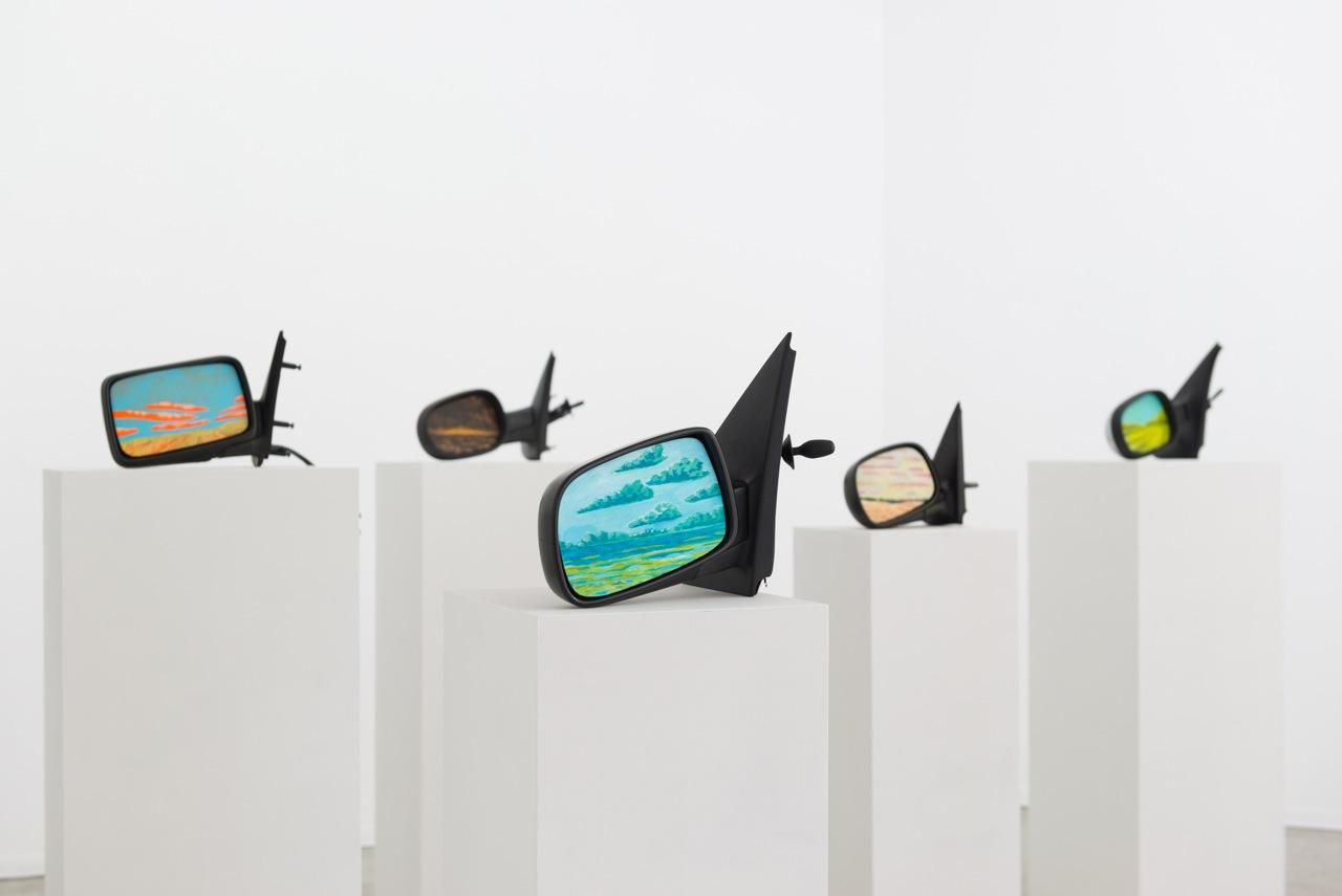Im Rahmen der Ausstellung Landen zeigt die Galerie Oechsner Werke von Andreas Töpfer.