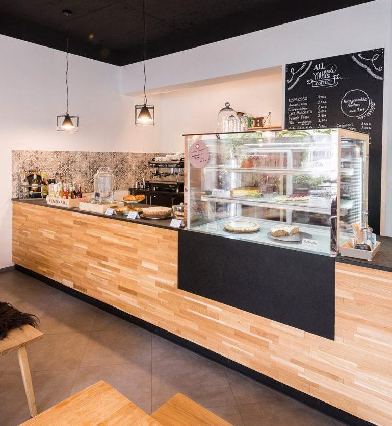 Das Café in Die Feine Heimat