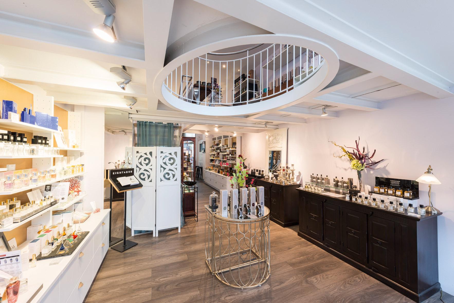 Galerie Parfum, der Concept Store am Trödelmarkt, führt Düfte besonderer Manufakturen.