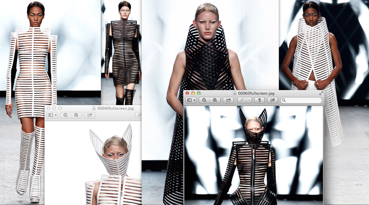 SS12 collection by Gareth Pugh