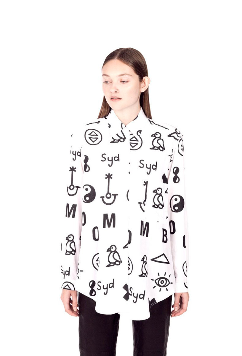 Photogenics + Co. x Chloé Norgaard Langarmshirt