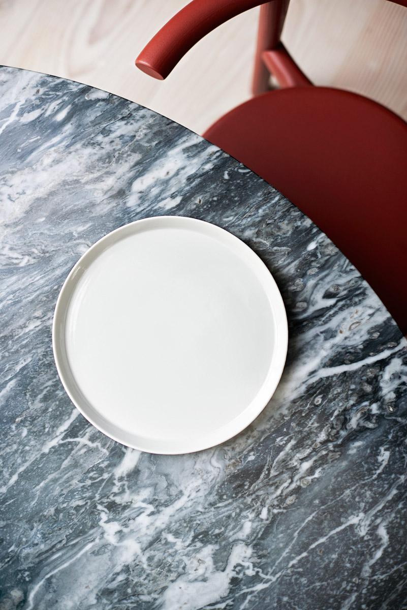 Vipp213 Speiseteller in weiß