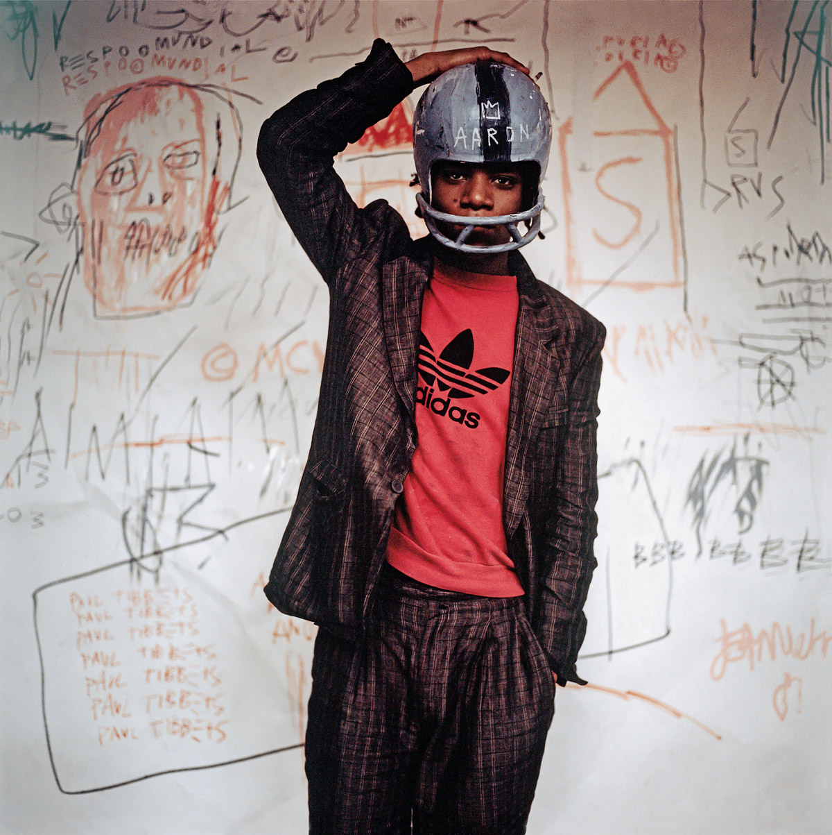 Portrait Jean-Michel Basquiat