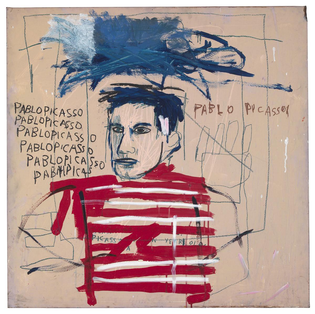 Basquiat Untitled Pablo Picasso, 1984