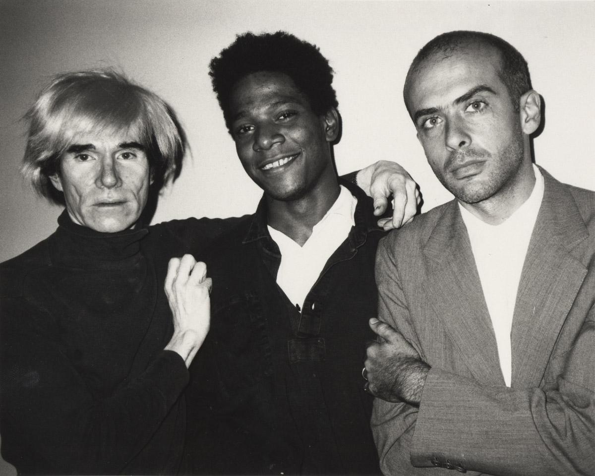 Beth, Phillips, Warhol, Basquiat, Clemente, 1984