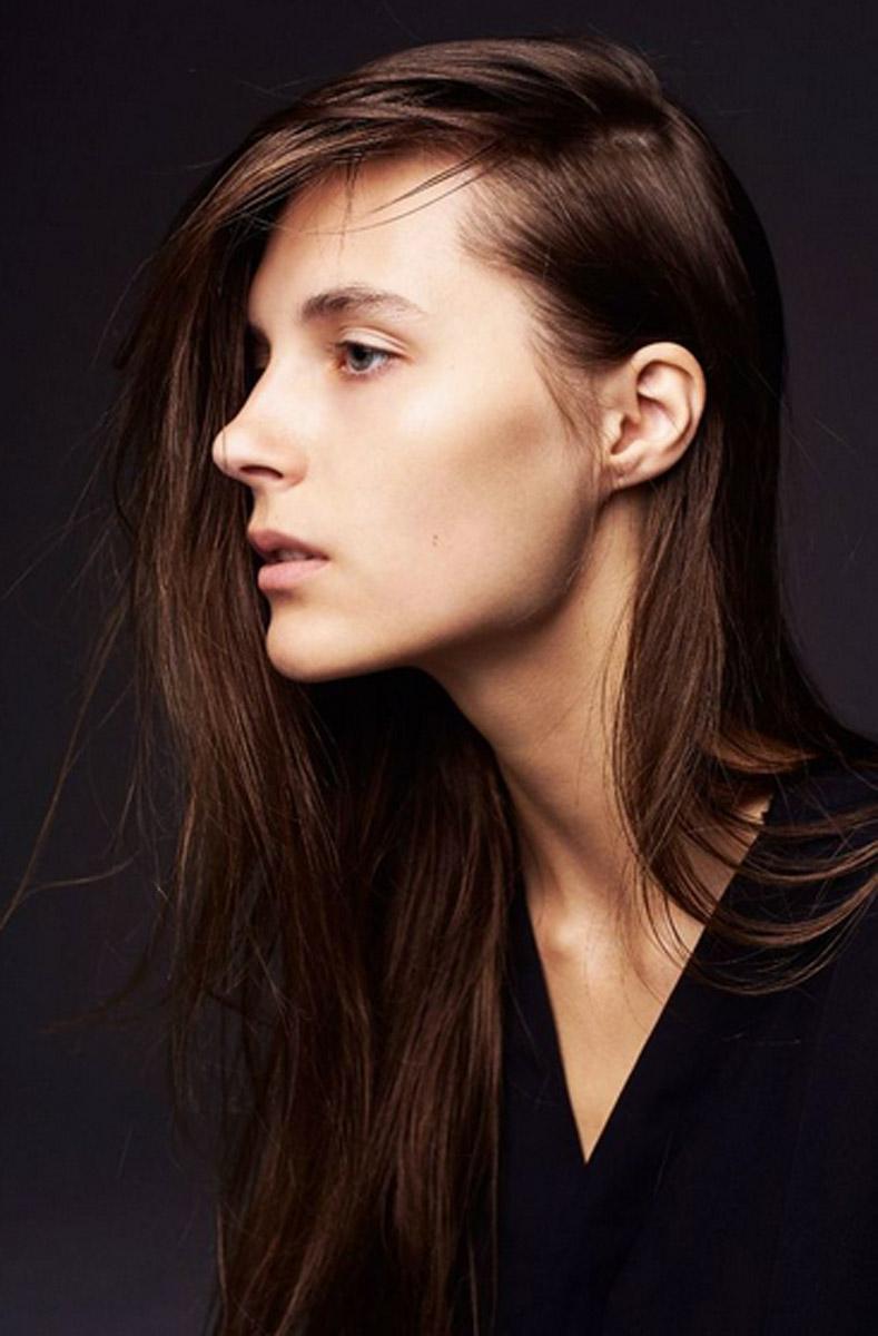 Model Liuba Petrova Close up
