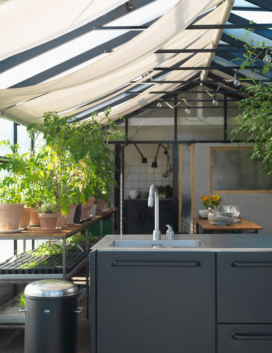 Restaurant Gro Spiserie mit Vipp Küche
