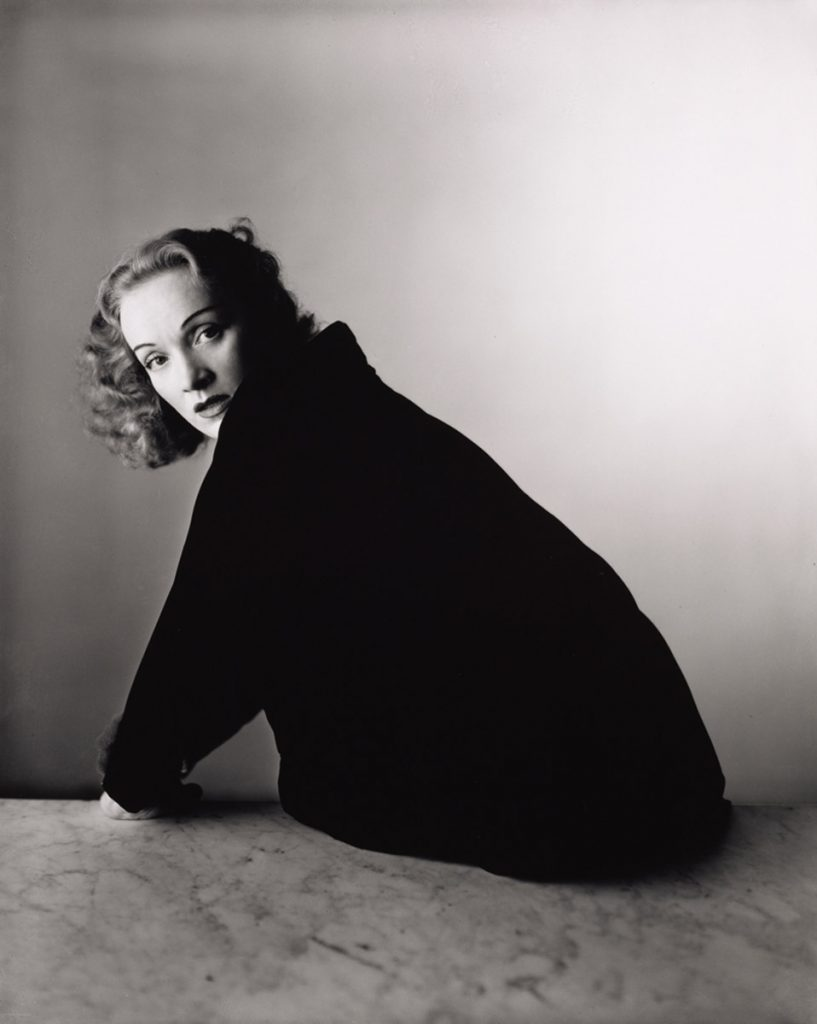 Marlene Dietrich, New York, 1948 © The Irving Penn Foundation