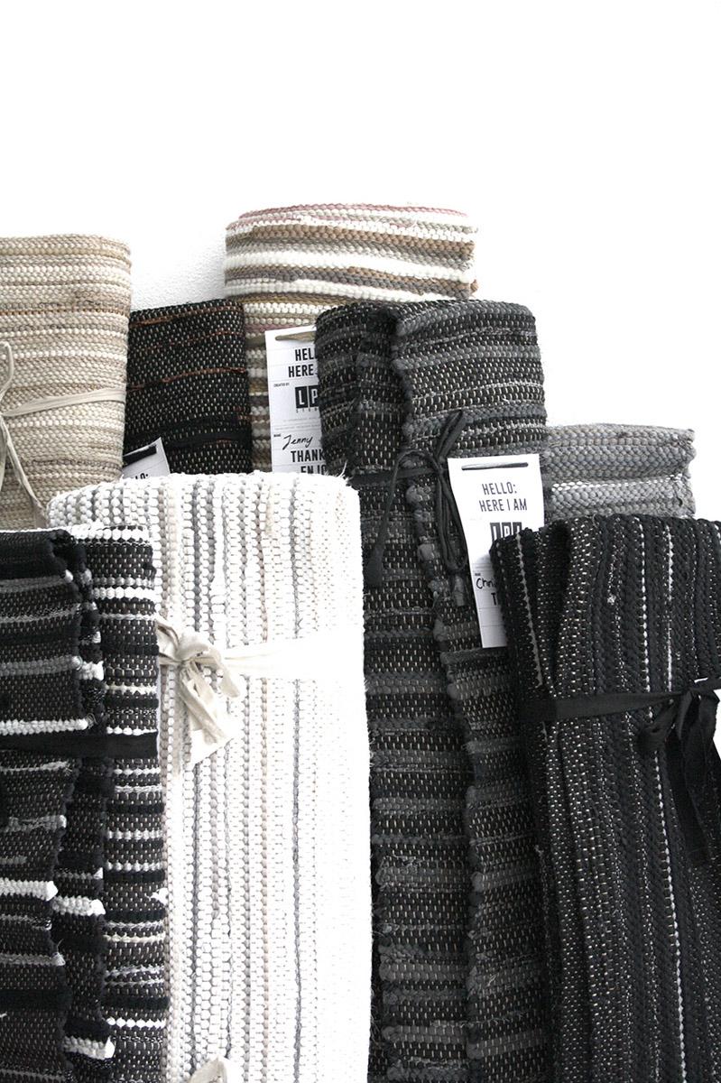 LPJ Rug grau, schwarz und weiß